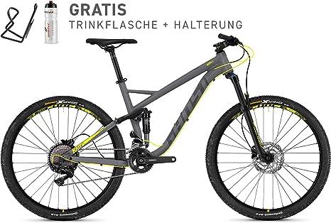 Ghost Kato FS 3.7 al Flat//Microchip Gray/Neon Yellow//MTB//Modelo 2018, microchip gray / neon yellow: Amazon.es: Deportes y aire libre