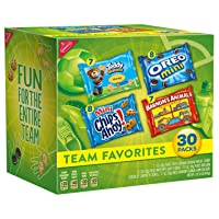 Deals on 30-Ct Nabisco Team Favorites Mix Variety Pack Halloween Treats