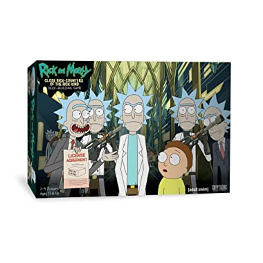 Cryptozoic Entertainment Rick & Morty Deckbuilding Game Close Rick-Counters of The Rick Kind Board Game