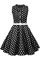 BlackButterfly Kids 'Holly' Vintage Polka Dot 50's Girls Dress