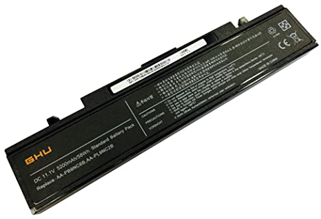 New GHU Battery 58 WH AA-PB9NC6B Compatible with Samsung NP-RV508 NT-