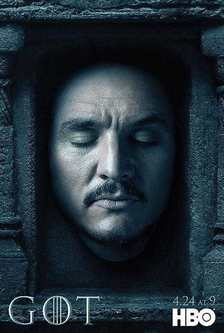 Juego De Tronos 6 Temporada Nos Importado De La Serie De Televisión De 30 Cm X 43 Cm Oberyn Póster Amazon Es Hogar