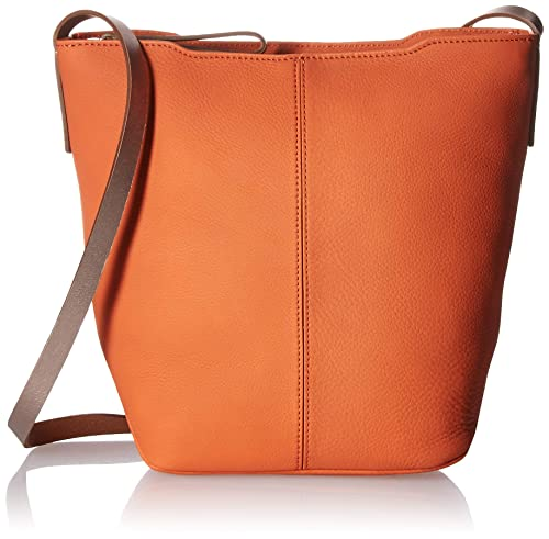 b17501f2e4 ECCO Jilin Bucket Bag, Arancio/Bronze Metallic: Amazon.co.uk: Shoes ...