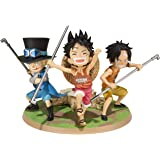 Figurine 'One Piece' : Little Luffy Ace Sabo