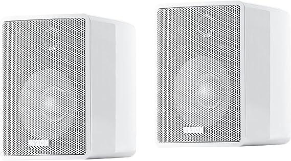 Canton Plus MX.3 - Altavoz de estantería de 40 W, blanco