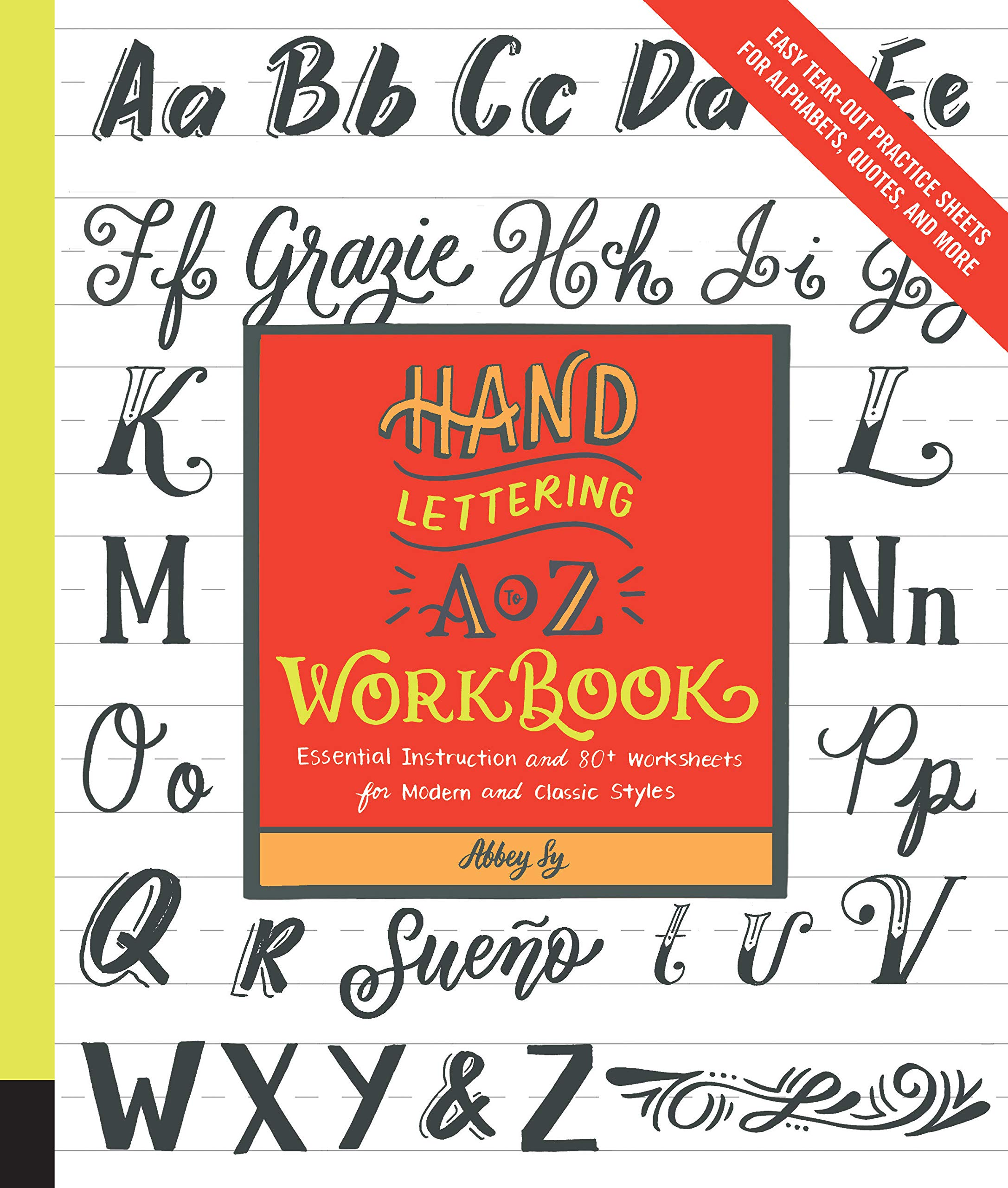 Amazon.com: Hand Lettering A to Z Workbook: Essential ...