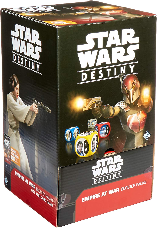Fantasy Flight Games FFG SWD07 Star Wars Destiny: Empire at War Booster Display, Multicolor