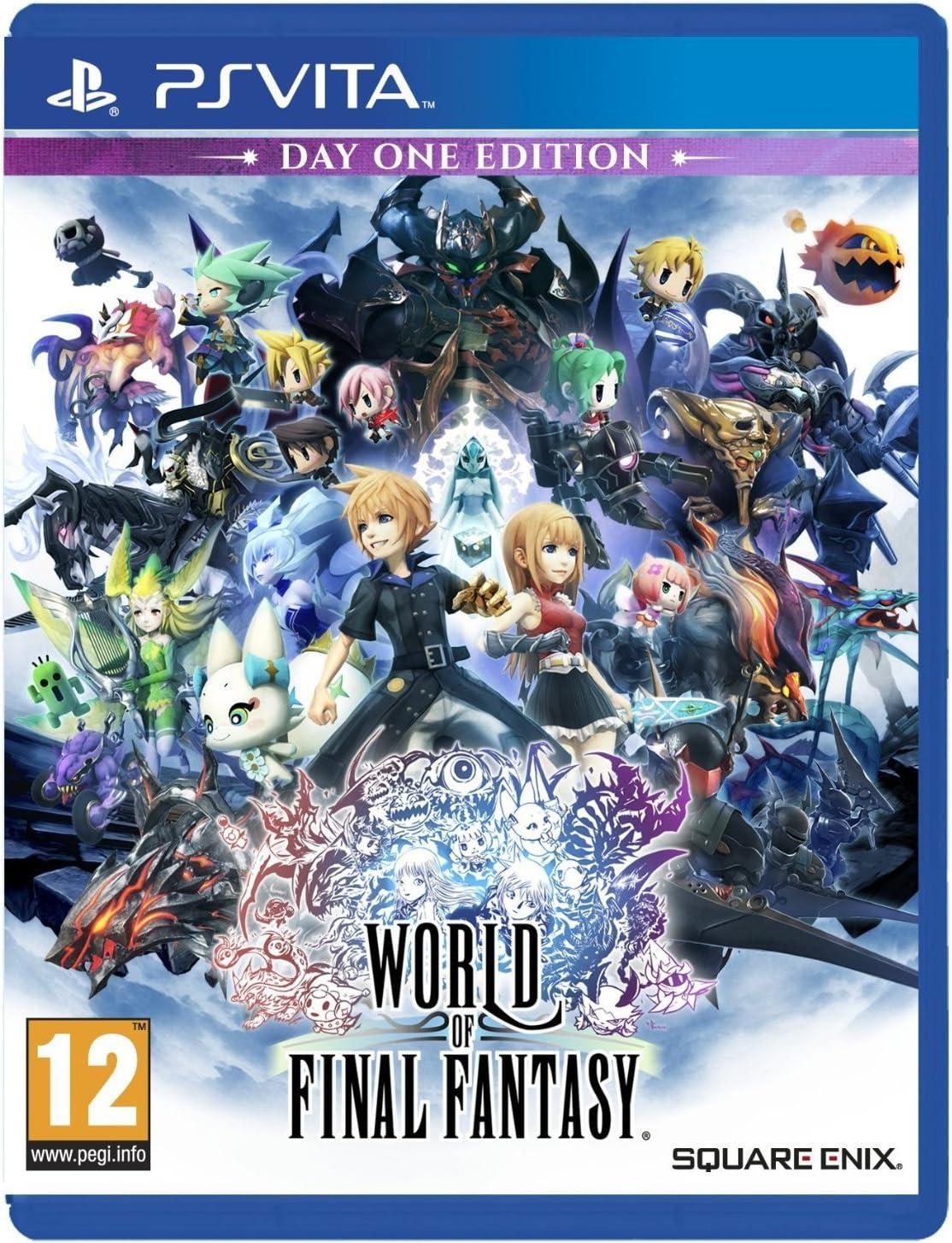 World Of Final Fantasy: Amazon.es: Videojuegos