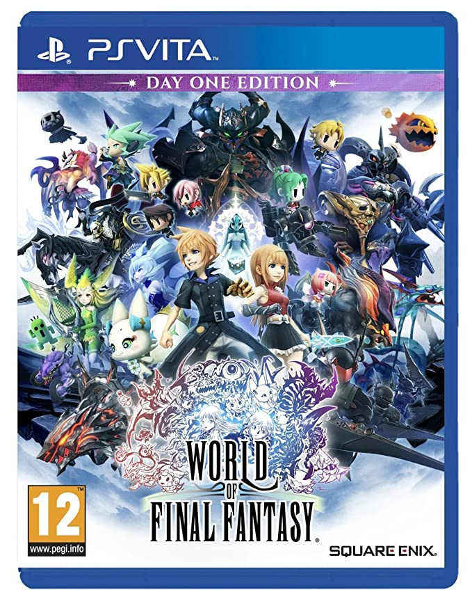 World Of Final Fantasy: playstation vita: Amazon.es: Videojuegos