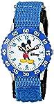 Disney Boys 'Tiempo de Mickey Mouse Azul Profesor Reloj