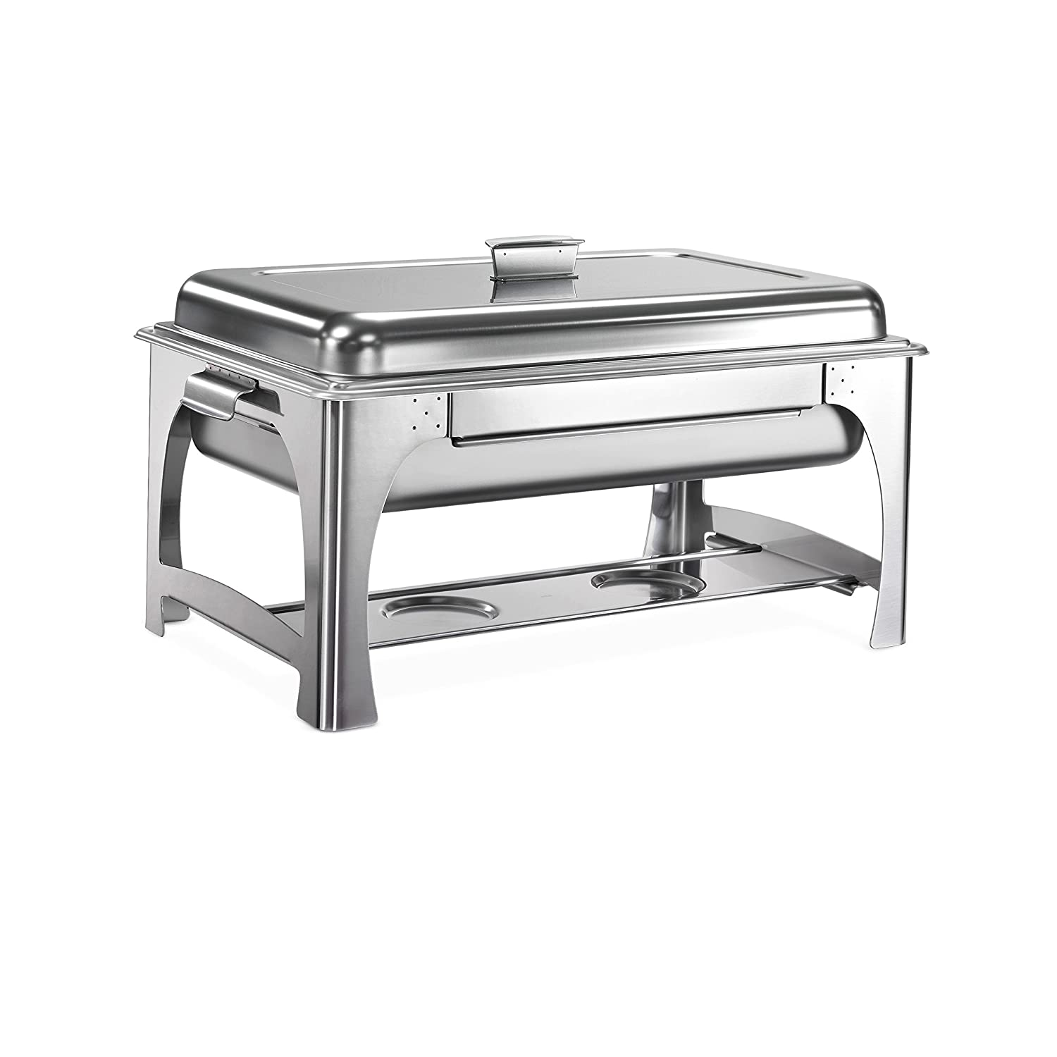 Tramontina 80120/520DS Pro-Line Stainless Steel Chafing Dish, 9-Quart, NSF-Certified 80205/520DS