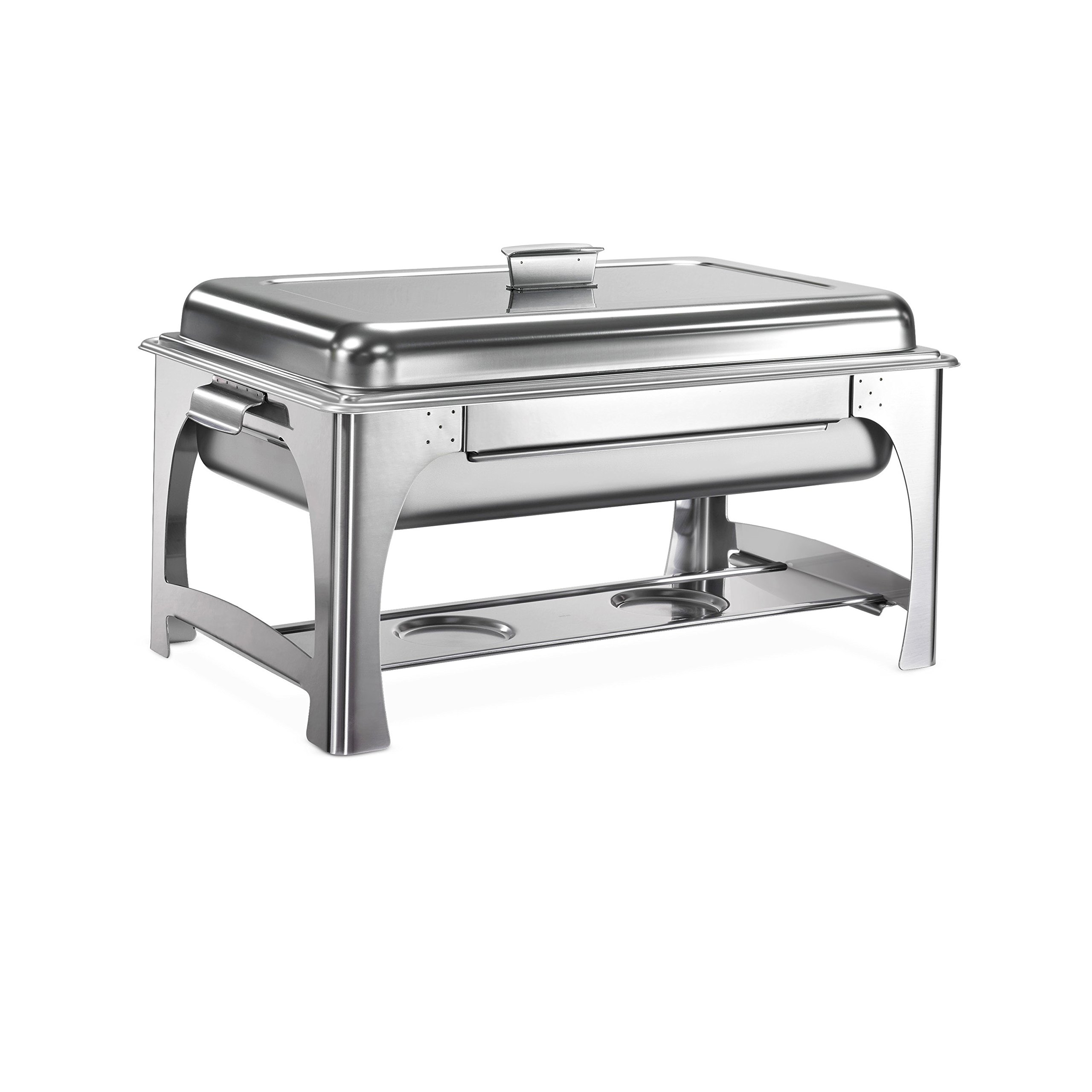 Tramontina 80120/520DS Pro-Line Stainless Steel Chafing Dish, 9-Quart, NSF-Certified
