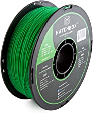 HATCHBOX ABS 3D Printer Filament, Dimensional Accuracy +/- 0.3 mm, 1 kg Spool, 1.75 mm, Green