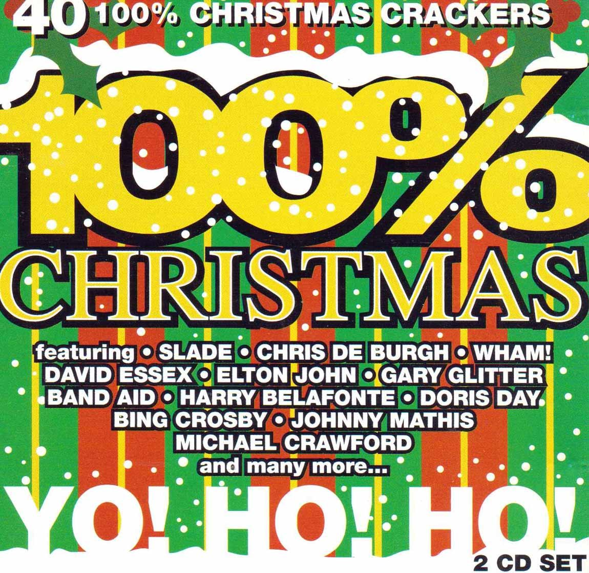100% Christmas [2 CD Set ~ 40 track 100% Christmas Crackers] by Telstar