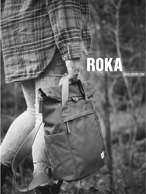 Bolso mochila para mujer Amarillo Corn M Roka