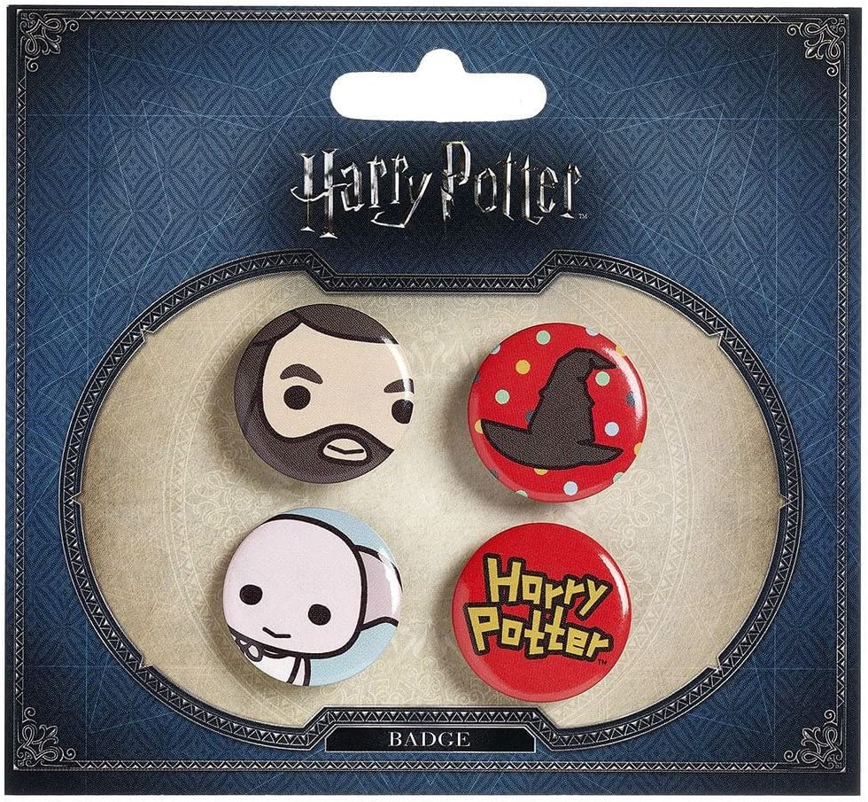 Sous licence officielle Harry Potter Chibi Design Bouton Badges Style Deux