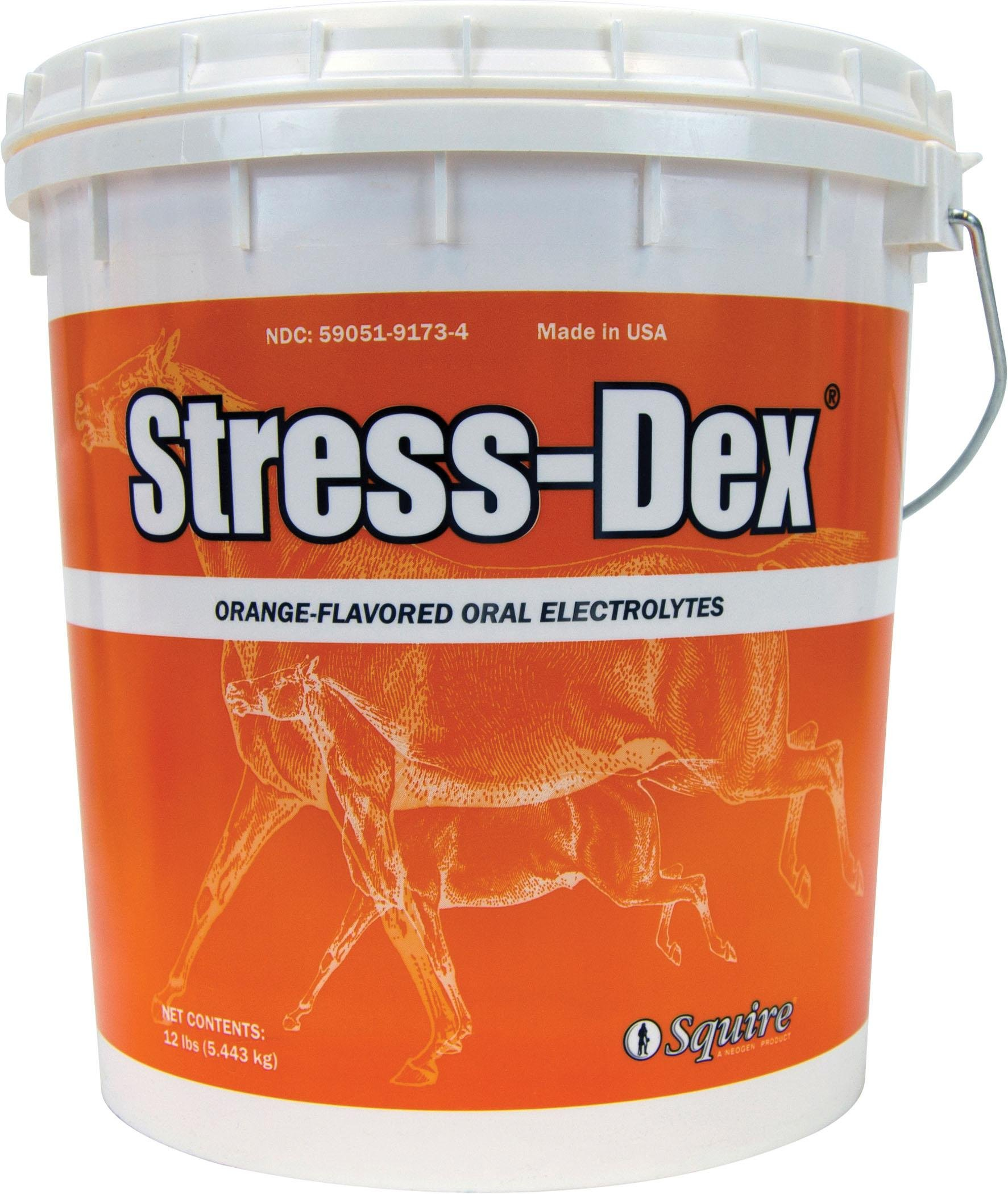 NEOGEN SQUIRE D Squire Stress-Dex Oral Electrolyte for Horses 12 Pound