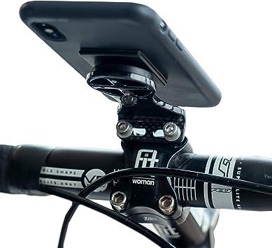 Soporte de Fibra de Carbono para teléfono móvil, GPS, Bicicleta ...