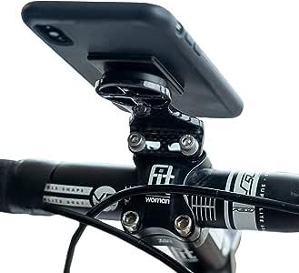 Soporte de Fibra de Carbono para teléfono móvil, GPS, Bicicleta, Manillar y Bicicleta: Amazon.es: Deportes y aire libre