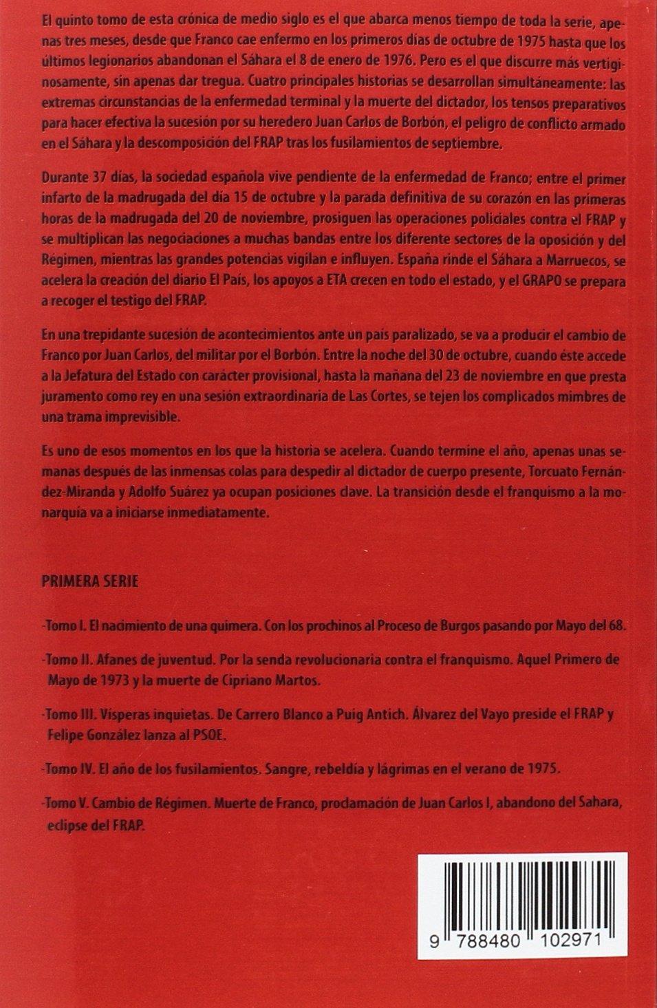 DEL FRAP A PODEMOS V: CAMBIO DE REGIMEN MUERTE: José Catalán Deus: 9788480102971: Amazon.com: Books