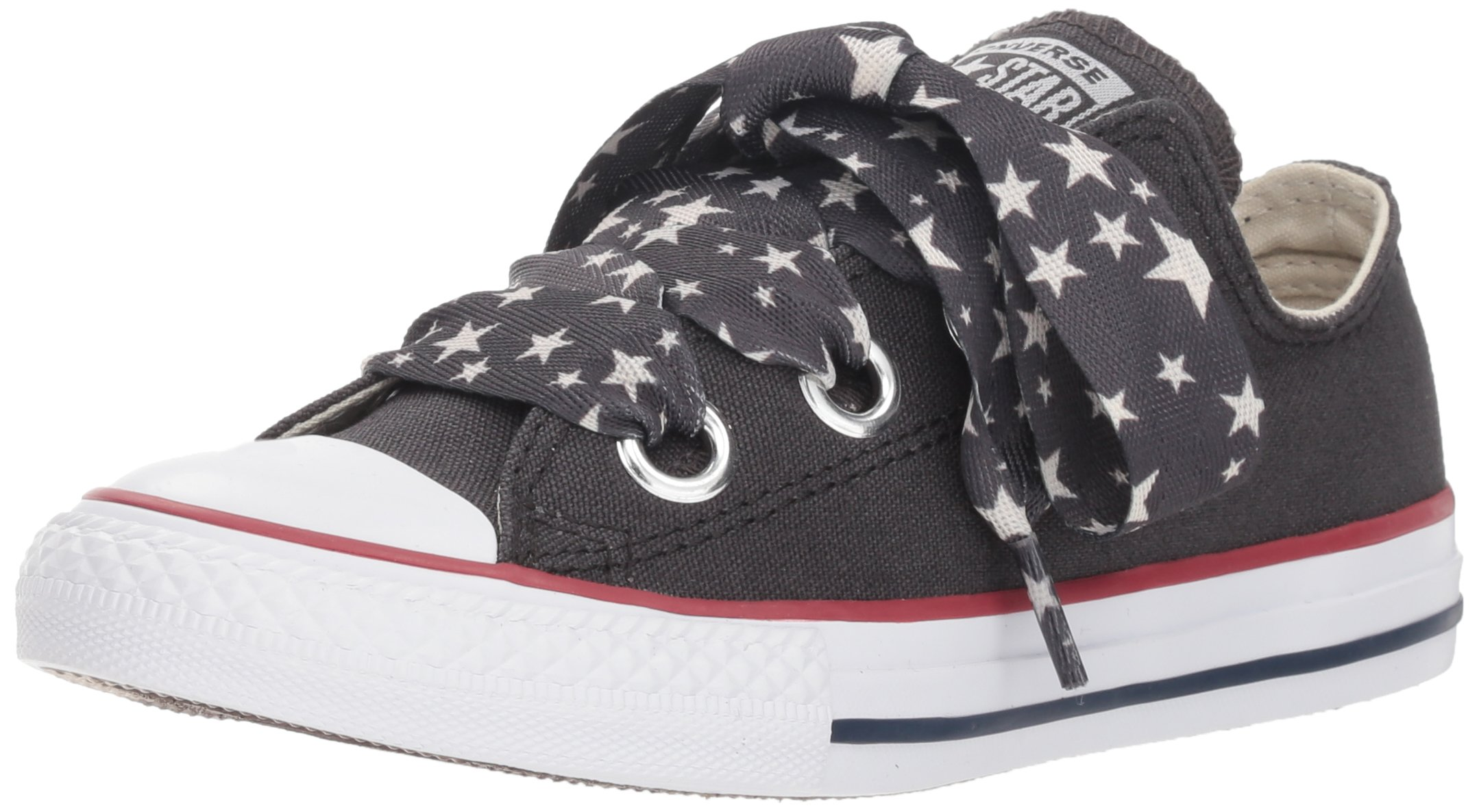 Galleon - Converse Girls  Eyelet Star Lace Low Top Sneaker 191a0cace