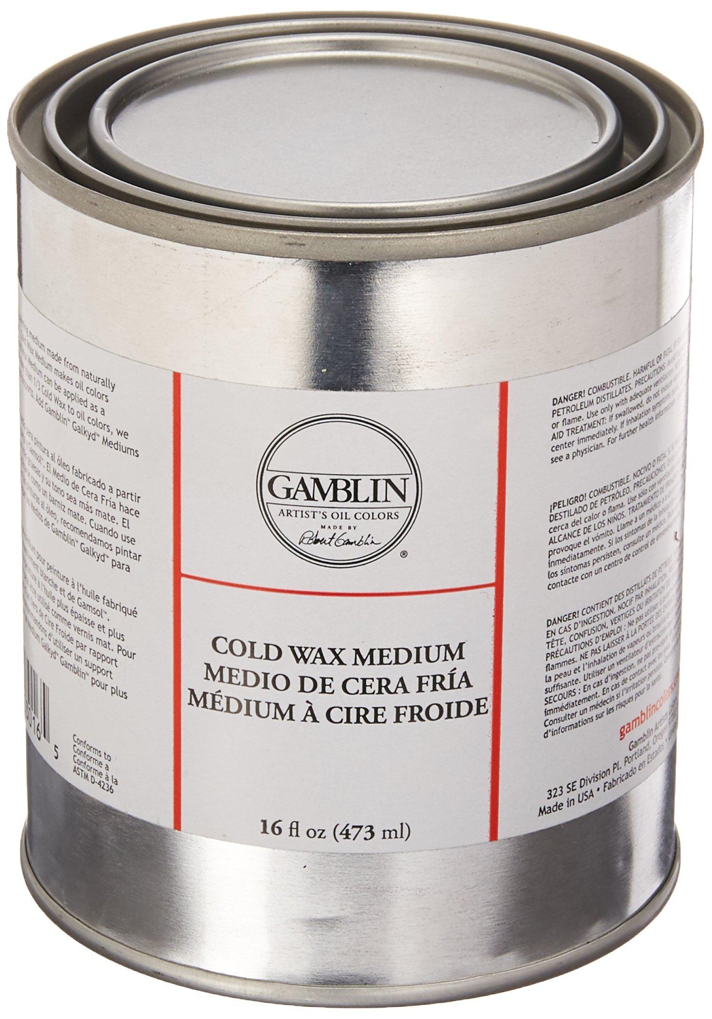 Cold Wax Medium Size: 16 oz