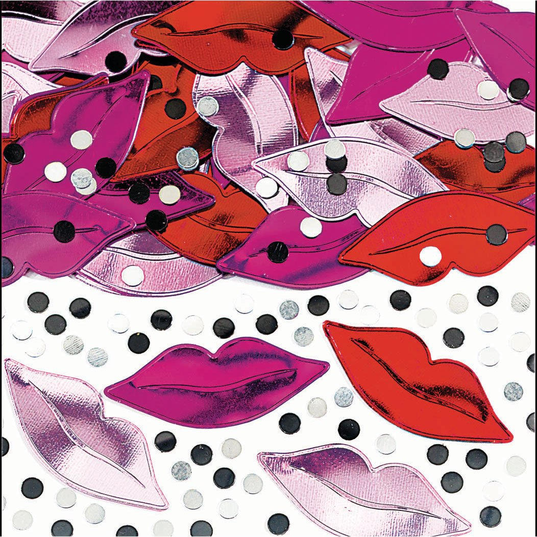 Embossed Lips Confetti エンボスリップスコンフェッティハロウィンクリスマス   B000KBB41S