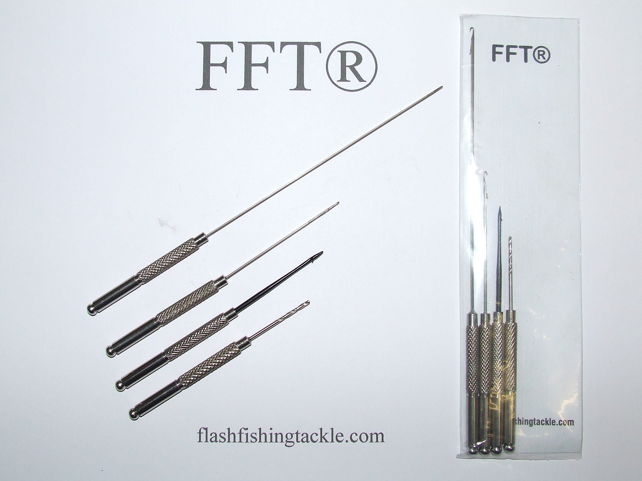 Ngt Baiting Needle /& Braid Scissor Set 6 x Pieces
