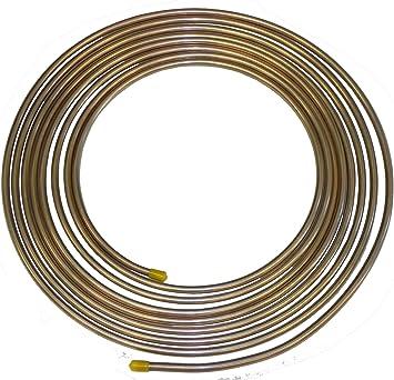 5 Feet 5//16 inch Copper Brake Pipe Fuel Pipe