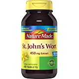 Nature Made St. John's Wort 450 mg. Tablets 40 Ct