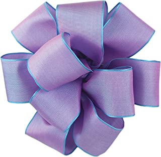 product image for Offray Wired Edge Gelato Craft Ribbon, 1-1/2-Inch Wide by 25-Yard Spool, Wisteria