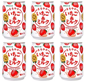 Sangaria Strawberry Milk, Extremely Popular in Japan - 8.69 Fl Oz | Pack of 6