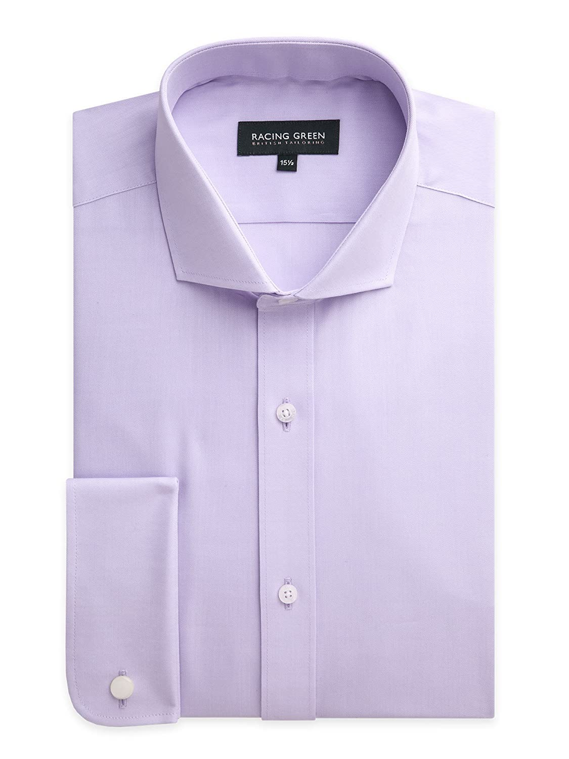 Racing Green Newgate Easy Care Twill Shirt - Tailored Fit Formal Shirt