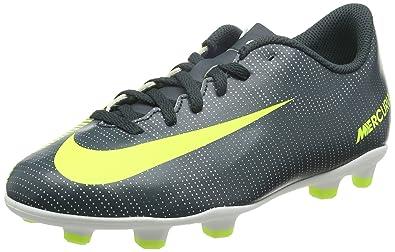 cf82aa516c5 Nike Unisex Kids  Jr Mercurial Vortex Iii Cr7 Fg Football Boots ...
