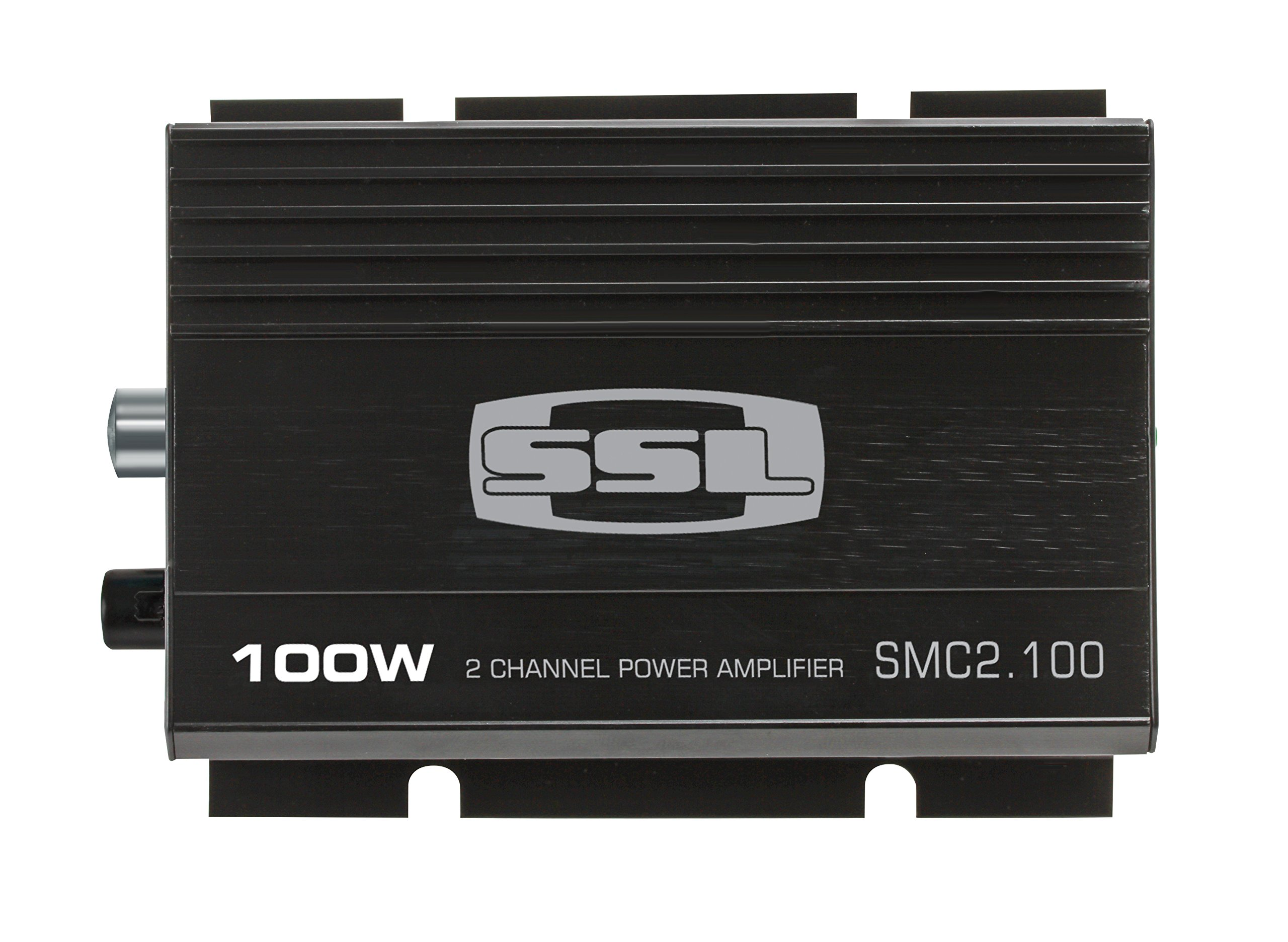 Sound Storm SMC2.100 - 100 Watt, 2 Channel, 4 to 8 Ohm Stable Class A/B, Full Range Car Amplifier