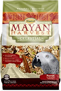 Higgins Mayan Harvest Celestial Dry Food for Parrots, 3 lbs.