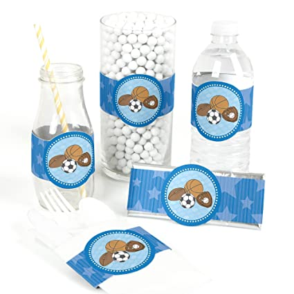 Amazon Com All Star Sports Diy Party Supplies Baby Shower Or