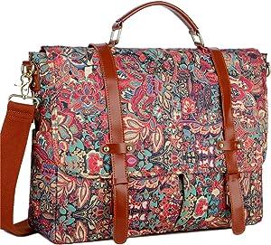 BAOSHA Large Womens Messenger bag Briefcase Satchel Shoulder Bag 15.6inch Computer Laptop Bag BC-01 (HS)