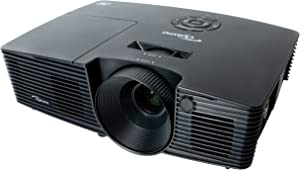 Optoma W316 Full 3D WXGA 3400 Lumen DLP Projector with Superior Lamp Life and HDMI
