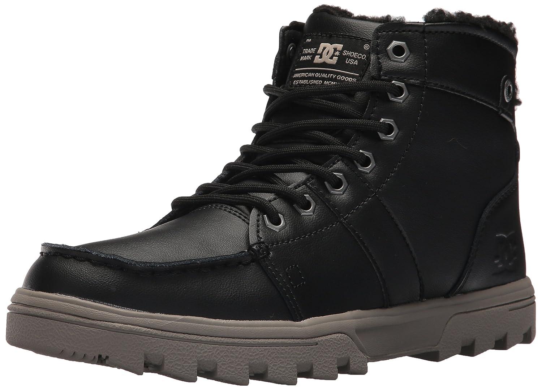 DC Men's Woodland Winter Boot B06Y5ZGT82 14 D D US|Black/Tan