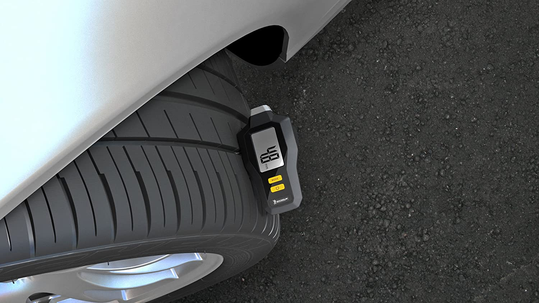 Michelin 12291B Digital Tyre Pressure /& Tread Depth Gauge