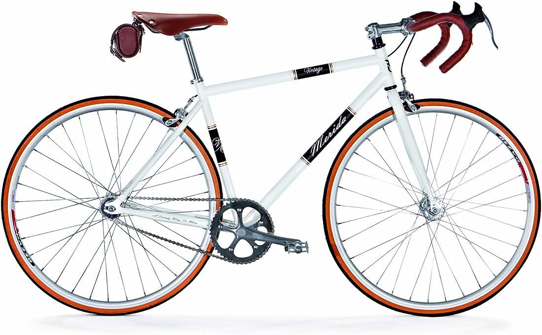 Merida Vintage Road Bicicleta 54 Blanco: Amazon.es: Deportes y aire libre