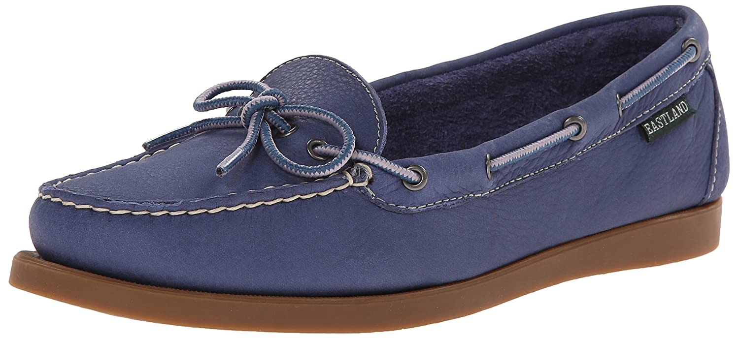 Eastland Women's Yarmouth Camp Moc Slip-on B00O2PIHLS 6.5 B(M) US|Blue