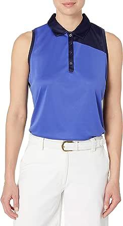 PGA TOUR Women's Sleeveless Color Block Polo