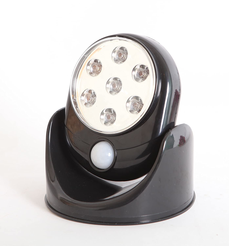 2 x motion activated cordless sensor led light outdoor. Black Bedroom Furniture Sets. Home Design Ideas
