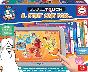 Amazon.es: Educa Veces Touch Hello Maestro. Juego Educativo a Partir de 5 años. Ref. 17885, Multicolor
