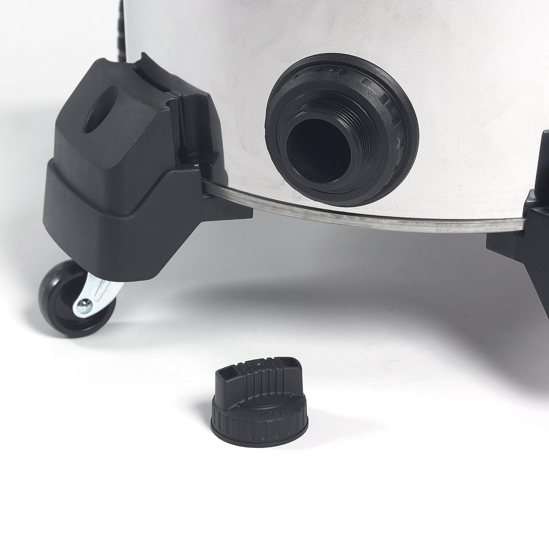 Drain Blower Port Pro Hose RIDGID 50353 1610RV Stainless Steel Wet Dry Vacuum 6.5 Peak HP Motor 16-Gallon Shop Vacuum with Cart Large Wheels