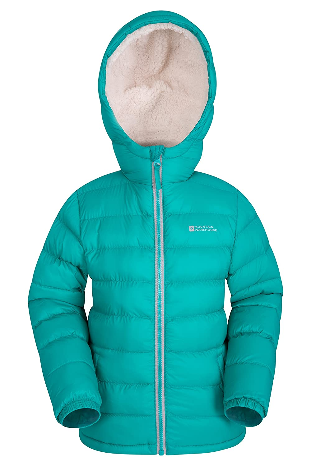 Mountain Warehouse Snowflake Girls Sherpa Lined Jacket