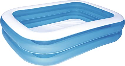 Bestway - Piscina Rectangular, Color Azul, Color Azul (12819): Amazon.es: Juguetes y juegos
