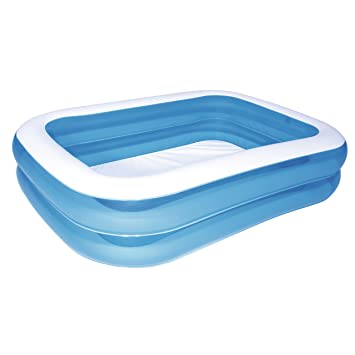 Bestway - Piscina Rectangular, Color Azul, Color Azul (12819)